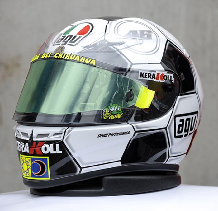 football helmet rossi