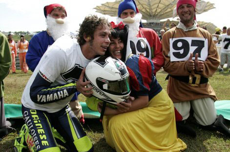 Rossi Sepang 2005 Celebration