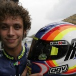 Valentino Rossi 'Cleaning Up' helmet (Sepang Winter Test 2004)