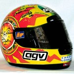 Valentino Rossi Sun and Moon Helmet (1997)