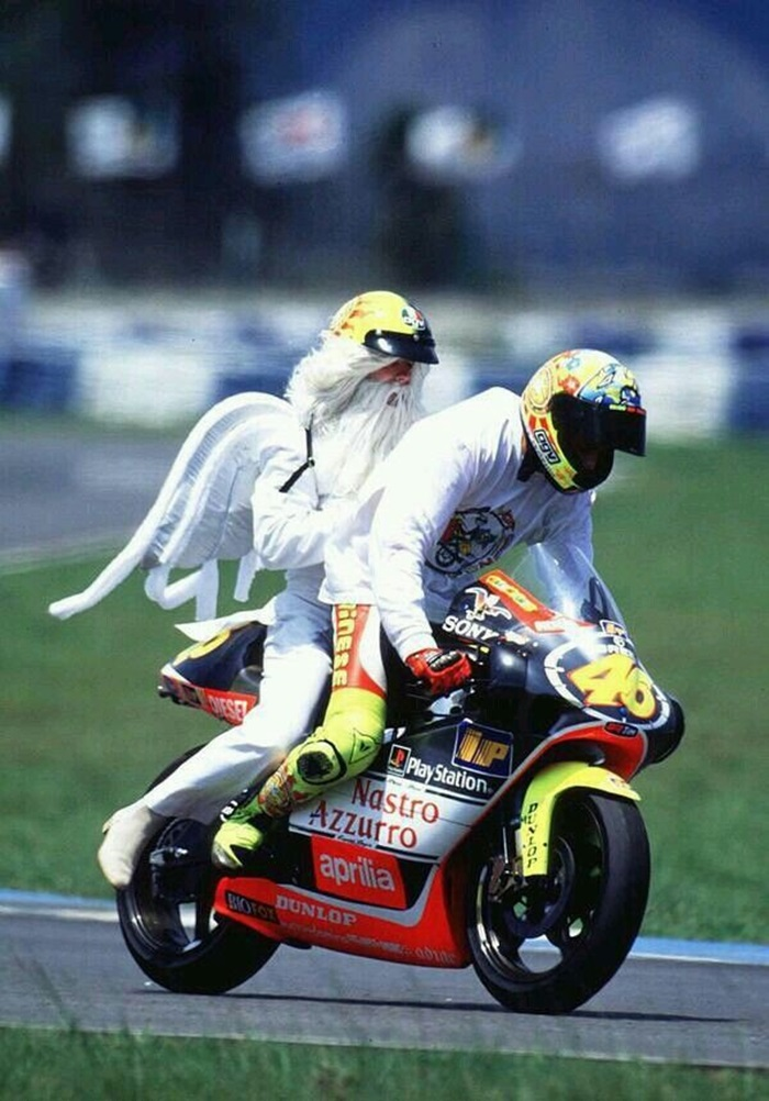 Guardian Angel valentino rossi