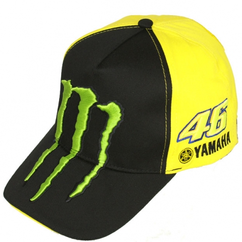 buy the official valentino rossi monster cap official. Black Bedroom Furniture Sets. Home Design Ideas