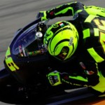 Valentino Rossi first time on Ducati