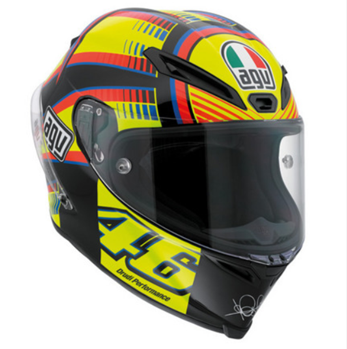 agv corsa valentino rossi soleluna helmet valentino. Black Bedroom Furniture Sets. Home Design Ideas
