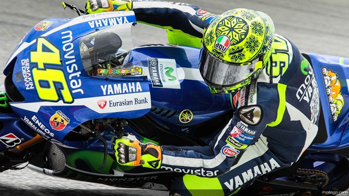 Valentino Rossi Winter Test 2015