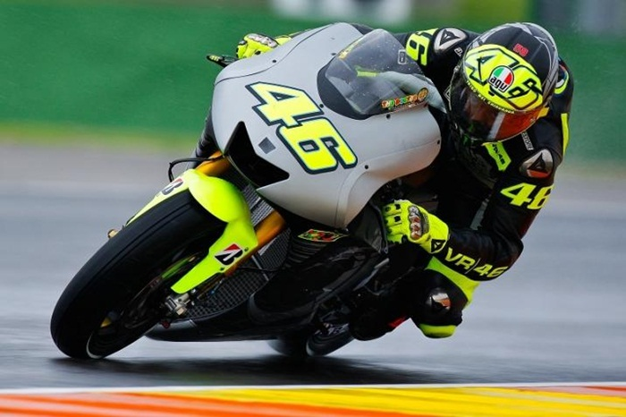 Valentino Rossi Winter test 2013