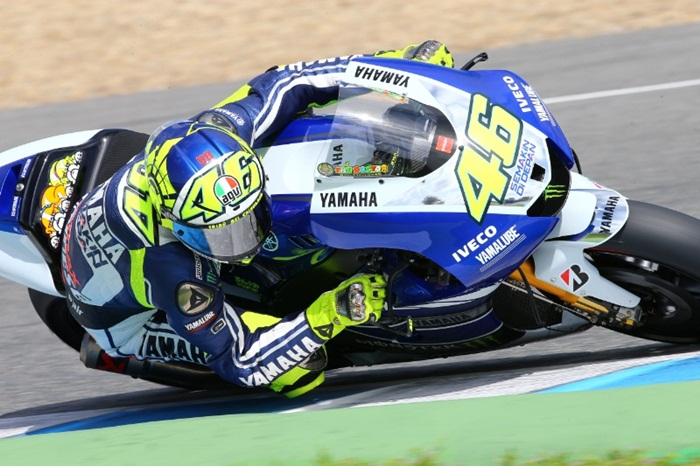 Valentino Rossi Winter test
