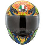 AGV K-3 Valentino Rossi 5 Continents Helmet
