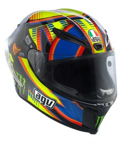 AGV Corsa Valentino Rossi Double Face Helmet - Winter test 2013