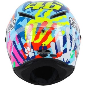 AGV Corsa Valentino Rossi 'Give us a hand' helmet (Misano 2014)