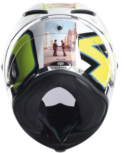 AGV Corsa Valentino Rossi 'Wish You Were Here' Helmet