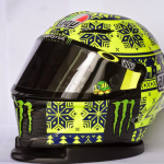 Agv PistaGP Valentino Rossi Test Sepang 2015