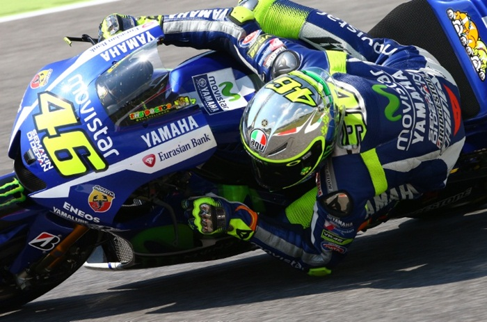 Valentino Rossi at Mugello 2015