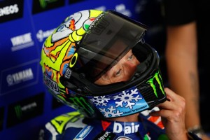 Valentino Rossi new winter test helmet at Sepang 2016