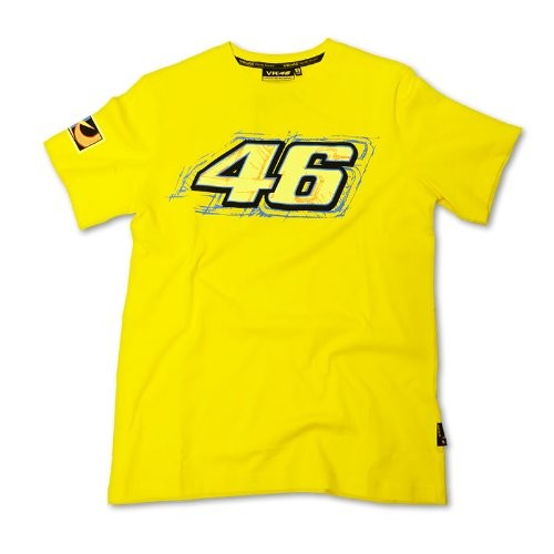 VR46 Valentino Rossi T-Shirt (Official Merchandise)