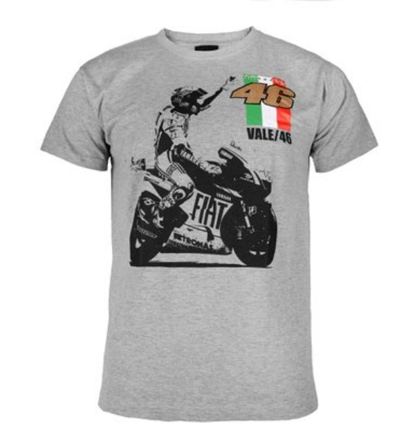 Valentino Rossi Motorcycle Vintage T-shirt