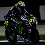 Valentino Rossi Qatar night test