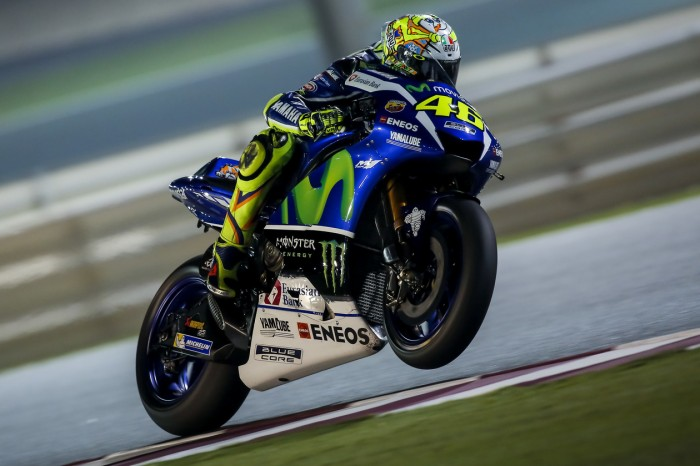 More Valentino Rossi images from Qatar night test – Valentino Rossi Helmets
