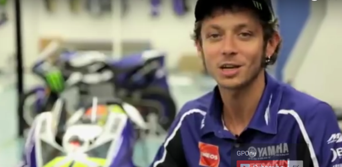 Valentino Rossi answers questions from fans