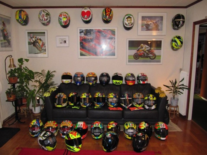 the collection valentino rossi