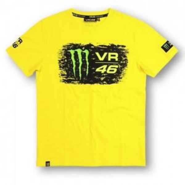 Valentino Rossi Monster Energy 46 T-Shirt (Yellow)