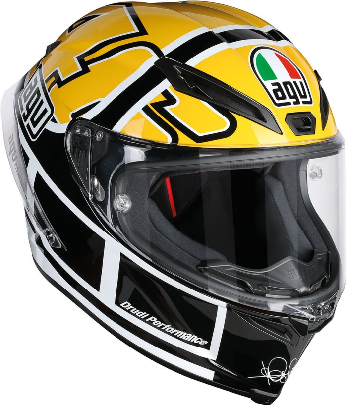 valentino rossi agv corsa r goodwood helmet valentino. Black Bedroom Furniture Sets. Home Design Ideas