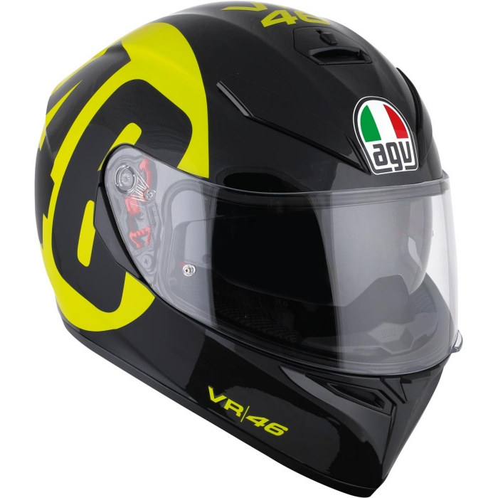agv k3 sv valentino rossi bollo 46 helmet valentino. Black Bedroom Furniture Sets. Home Design Ideas