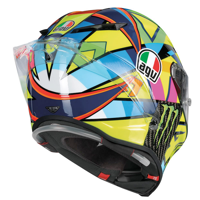 valentino rossi agv pista gp r soleluna 2016 helmet. Black Bedroom Furniture Sets. Home Design Ideas