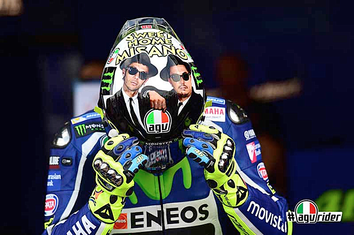 Valentino Rossi Misano The Blues Brothers